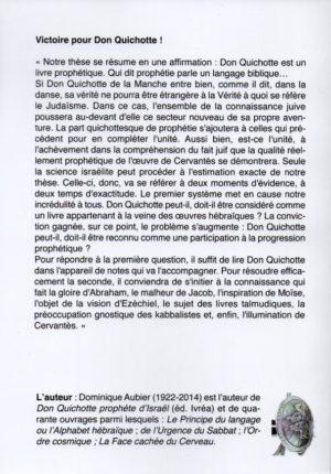 Victoire pour  Don Quichotte !