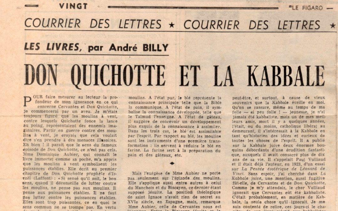 Don Quichotte et la Kabbale